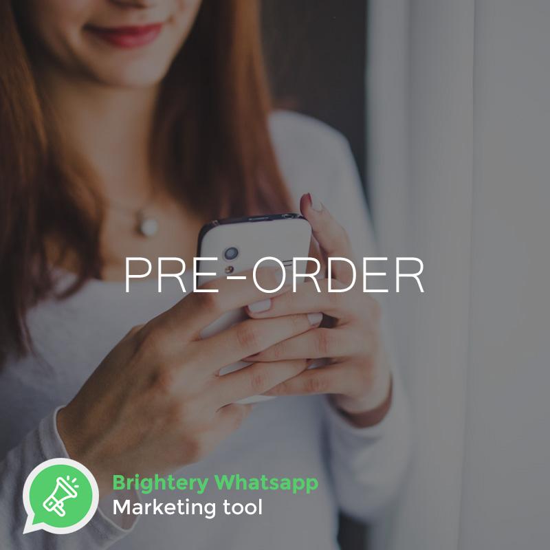 Brightery whatsapp marketing tool