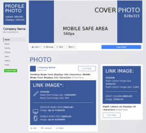 Facebook cheat sheet - brightery