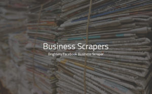 Business scraper