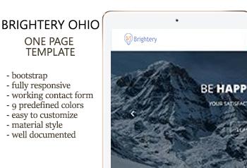 Brightery Ohio - html template