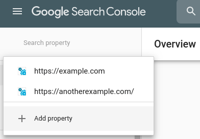 Add a site map - Google Console