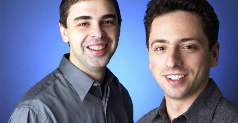 لاري بيج وسيرجي برين - مؤسسي جوجل