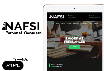 Nafsi - free html5 templates