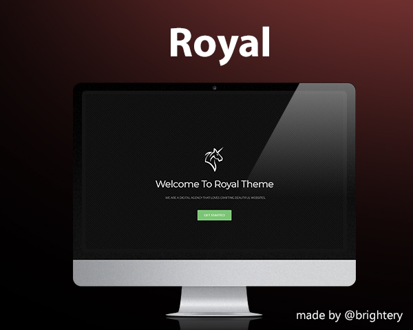 Royal HTML5 Free template