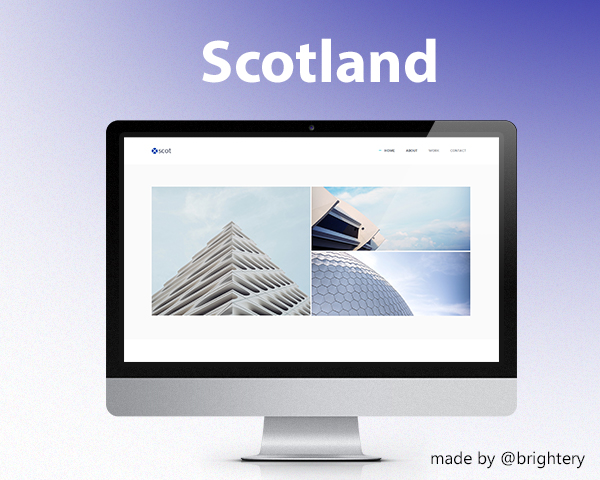 Scotland template html responsive template free download