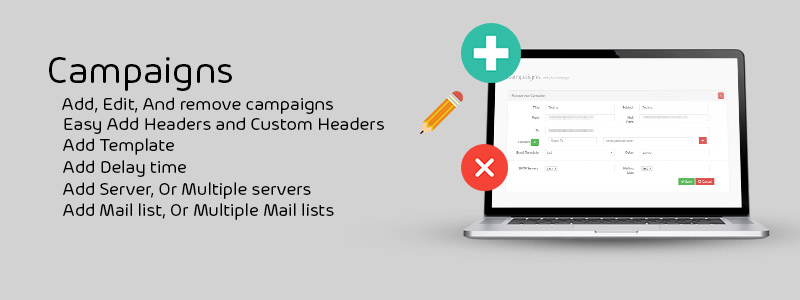Yes, MailChimp is good, but is it affordable? Start with Panda Mailer from brightery helps you create better mailing address base and mailer track support, Mailer HTML files support, The source code of mailer in PHP.