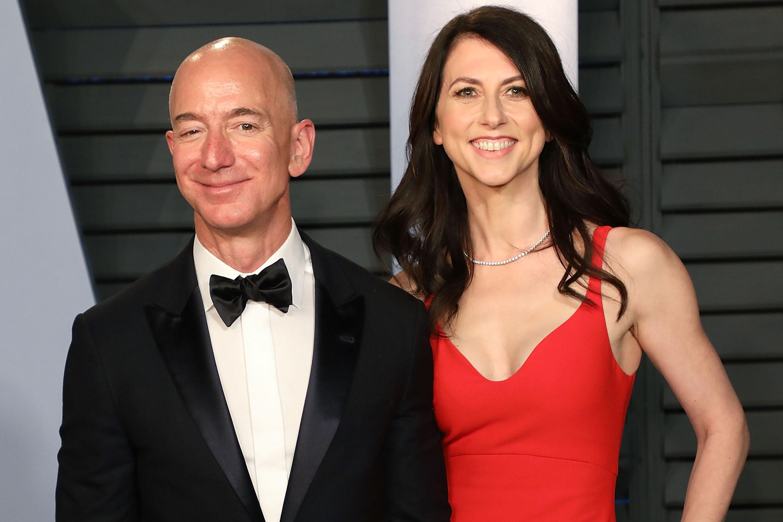 Jeff Bezos wife, MacKenzie Bezos