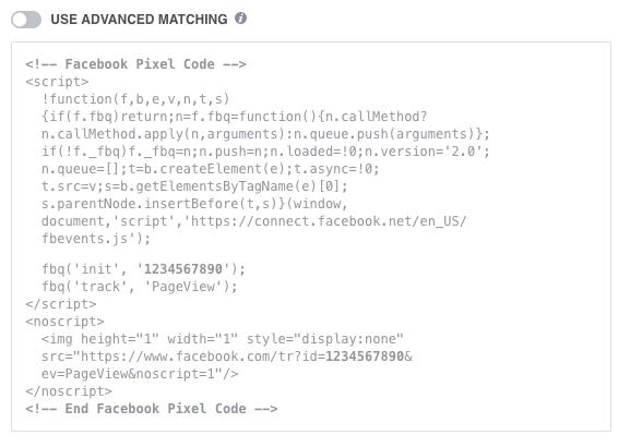 the facebook pixel