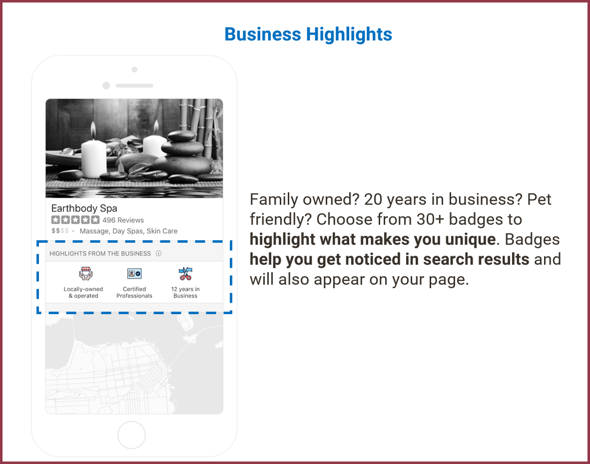 Yelp Fact Sheet provided by brightery containing the tips of Yelp Restaurants need to understand in Yelp App new update, Updated Yelp Features stunning and why Review Yelp page is important, Earn 300 USD Free credits from this post.