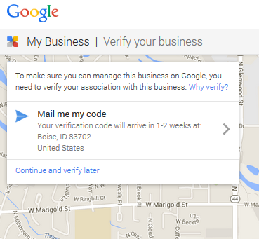 Verify Your Business