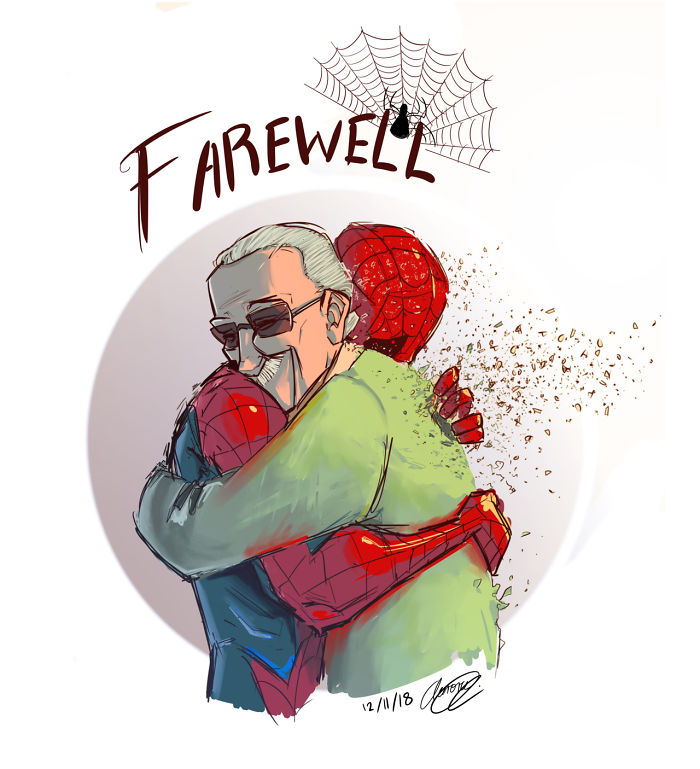 A Quick guide about Stan Lee afterstan lee death, This post is including thenet worth stan lee made and how much did they measure stan lee net worth,how did stan lee die and when stan lee's death best artistic Artwork and designs made in a creative way after stan lee's death.