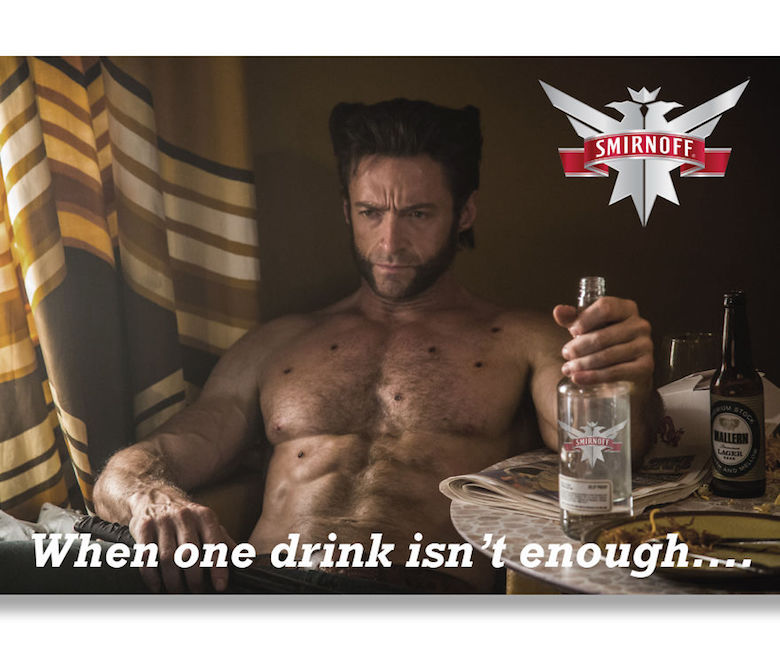Amazing Hugh Jackman of Wolverine is coming out with Smirnoff, We all know that Wolverine is too much drinker in all movies and all the time.
